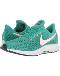 Nike - Air Zoom Pegasus 35 (barely Grey/hot Punch/geode Teal/black) Women's Running Shoes - Lyst