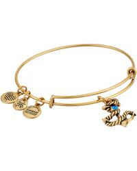 ALEX AND ANI | Seaside Anchor Iii Bangle | Lyst