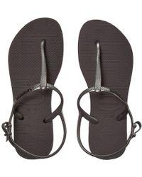 271180816c445 Havaianas - Freedom Sl Flip-flops (grey) Women s Sandals - Lyst