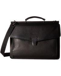 Kenneth Cole Reaction - My Rod-ern Life - Computer Dowel Rod Portfolio (black) Briefcase Bags - Lyst