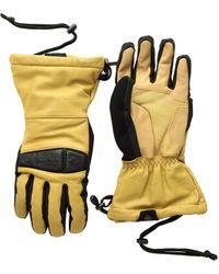 Obermeyer - Eclipse Leather Gloves (buckskin) Over-mits Gloves - Lyst