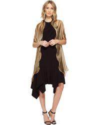 Lauren by Ralph Lauren - Penelope Ruffle Wrap (barley) Women's Clothing - Lyst