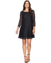 Tahari - Lace Trapeze Dress (black) Women's Dress - Lyst