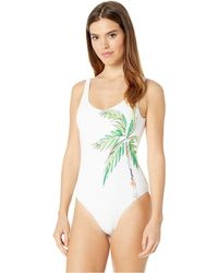 ee4e157d12 Onia - Kelly One-piece (royal Blue Multi) Women s Swimsuits One Piece -