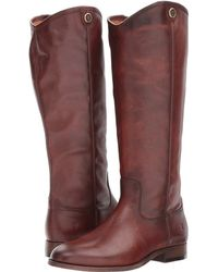 Frye - Melissa Button 2 (redwood) Cowboy Boots - Lyst