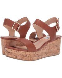 043847692d1 Steve Madden - Breathe Wedge Sandal (black Suede) Women s Wedge Shoes - Lyst