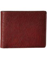 Bosca - Washed Collection - 8-pocket Deluxe Executive Wallet (coganc) Wallet Handbags - Lyst