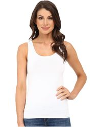 Karen Kane - Long Super Soft Tank (white) Women's Sleeveless - Lyst
