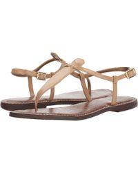 Sam Edelman - Gigi (black Small Sequins) Women's Sandals - Lyst
