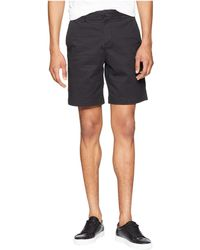Lacoste - Stretch Regular Fit Bermudas (navy Blue) Men's Shorts - Lyst