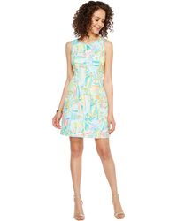 Lilly Pulitzer - Courtney Shift (multi Sea Salt And Sun) Women's Dress - Lyst