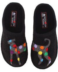 Haflinger - Jack (black) Women's Slippers - Lyst