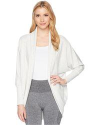 Jockey Active - Cocoon Wrap (deep Black) Women's Sweater - Lyst
