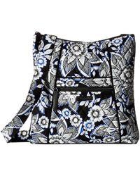 Vera Bradley - Hipster (snow Lotus) Cross Body Handbags - Lyst