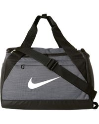 3886a4b075 Nike - Brasilia Extra Small Training Duffel Bag (black black white) Duffel