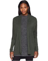 Prana - Foundation Wrap (forest Green Heather) Women's Sweater - Lyst