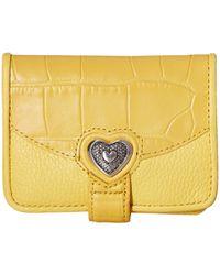 Brighton - Bellisimo Heart Small Wallet - Lyst