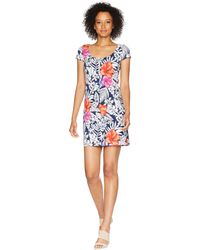 Tommy Bahama - Fuego Floral Scoop Neck Dress - Lyst