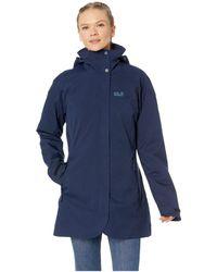 Jack Wolfskin - Ruunaa 3-in-1 Waterproof Coat (grape Leaf) Women's Coat - Lyst