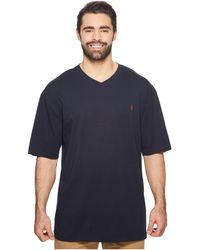 Polo Ralph Lauren - Big And Tall Classic V-neck T-shirt (new Grey Heather) Men's T Shirt - Lyst