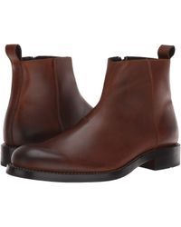 Wolverine - 1000 Mile Montague Chelsea Zip (brown Leather) Men's Dress Zip Boots - Lyst