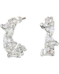 Swarovski - Lady Hoop Pierced Earrings - Lyst