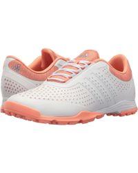 adidas Originals - Adipure Sport (core White/aero Blue/chalk Coral) Women's Golf Shoes - Lyst
