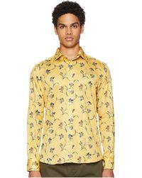 Etro - New Warrant Floral Shirt (parchment) Men's Clothing - Lyst