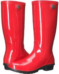 UGG - Shaye (blue Jay) Women's Rain Boots - Lyst