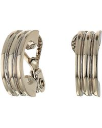Lauren by Ralph Lauren - Hoop Earrings (silver 2) Earring - Lyst