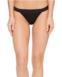 DKNY - Classic Cotton Tailored Thong (black) Women's Underwear - Lyst