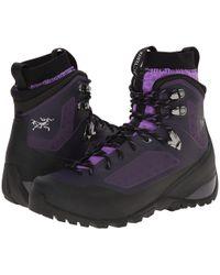 Arc'teryx - Bora Mid Gtx (black/mid Seaspray) Women's Shoes - Lyst