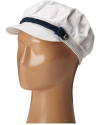 Betmar - Fisherman Cap (white/navy) Caps - Lyst