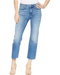 NYDJ - Marilyn Ankle W/ Raw Hem In Capitola (capitola) Women's Jeans - Lyst
