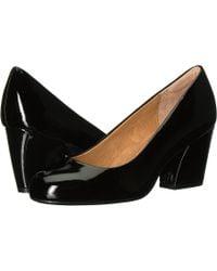 Söfft - Tamira (black Goat Patent) Women's 1-2 Inch Heel Shoes - Lyst