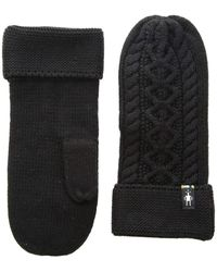 Smartwool - Bunny Slope Mitten (black) Extreme Cold Weather Gloves - Lyst