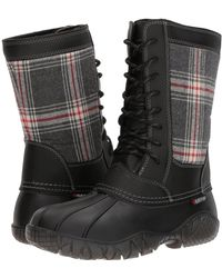 Baffin - St. Claire (black Plaid) Women's Boots - Lyst