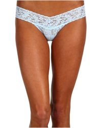 c506059d189f7 Hanky Panky - Bride Low Rise Bridal Thong (white clear) Women s Underwear -