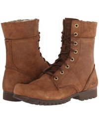 Caterpillar - Alexi (grey Suede) Women's Lace-up Boots - Lyst