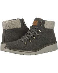 094c19c5f Dr. Scholls - Sentinel (charcoal Flannel Fabric) Women's Shoes - Lyst