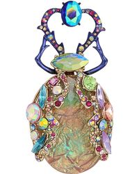 Betsey Johnson - Colorful Insect Pin - Lyst