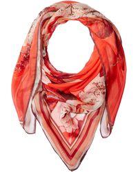 Vince Camuto - Dreamscape Floral Silk Chiffon - Lyst