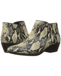 f9d4890f5558b2 Lyst - Sam Edelman Petty Suede Ankle Boots in Black