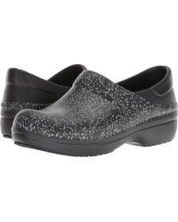 Crocs™ - Neria Pro Ii Graphic Clog (black/dots) Women's Clog Shoes - Lyst