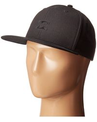 Billabong - All Day Snapback (stealth 1) Caps - Lyst