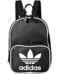 55cf4eadc45 adidas Originals - Originals Santiago Mini Backpack (black) Backpack Bags -  Lyst