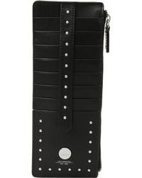 Lodis - Pismo Stud Rfid Credit Card Case With Zipper Pocket - Lyst