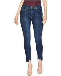 Hudson Jeans - Barbara High-waist Crop Step Hem Skinny Jeans In Lost (lost) Women's Jeans - Lyst