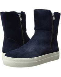 J/Slides - Allie (navy) Women's Boots - Lyst
