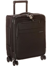 Briggs & Riley - Baseline Commuter Expandable Spinner (black) Luggage - Lyst